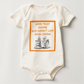 Body Para Bebê mergulho autónomo