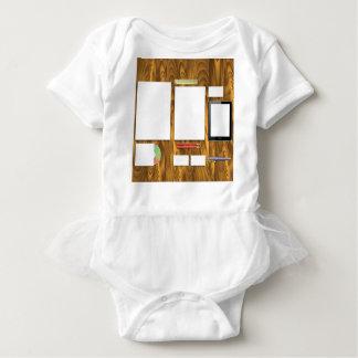 Body Para Bebê Mesa de escritório