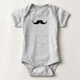 Body Para Bebê Mestre do bigode do disfarce customizável