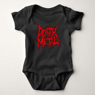 Body Para Bebê Metal da morte
