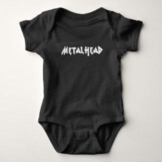 Body Para Bebê Metalhead