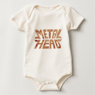 Body Para Bebê MetalHead oxidado