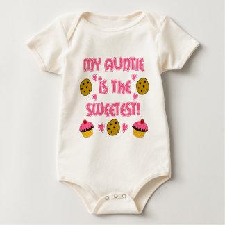 Body Para Bebê Meu Auntie