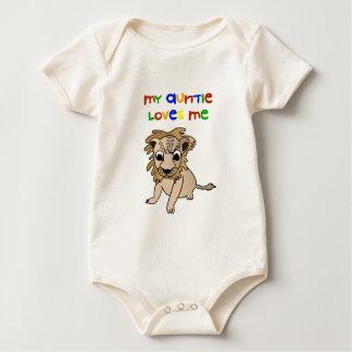 Body Para Bebê Meu Auntie Amor Me