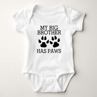 Body Para Bebê Meu big brother tem as patas