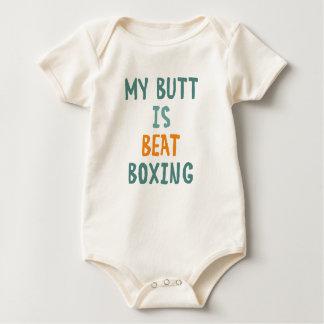Body Para Bebê Meu bumbum beatboxing
