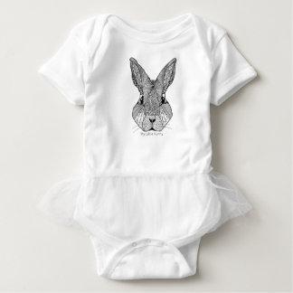 Body Para Bebê Meu design pequeno do coelho