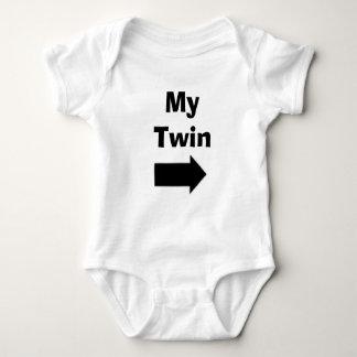 Body Para Bebê Meu gêmeo
