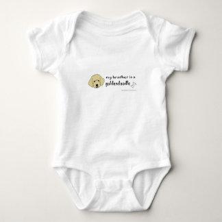Body Para Bebê meu irmão de aaaoct6g é um goldendoodle - mais