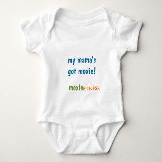 Body Para Bebê Meu mama obtido o moxie!