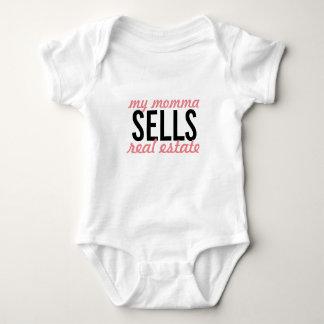 Body Para Bebê Meu momma vende bens imobiliários, como sobre seu?