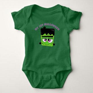 Body Para Bebê Meu ø Dia das Bruxas Frankenstein