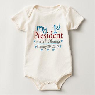 Body Para Bebê Meu ø presidente (Barack Obama)