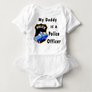 Body Para Bebê Meu pai é um agente da polícia