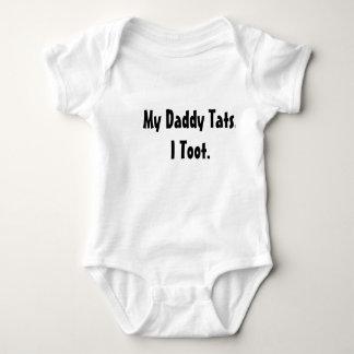 Body Para Bebê Meu pai Tats. Eu toot.