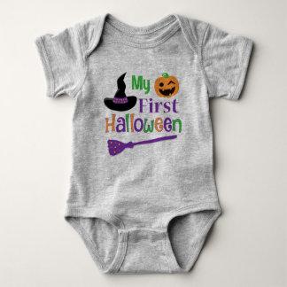 Body Para Bebê Meu primeiro Bodysuit do jérsei do bebê do Dia das