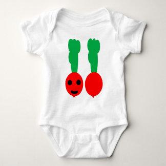 Body Para Bebê Meu rabanete feliz