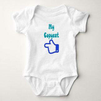 Body Para Bebê Meu romper do bebê do copiador