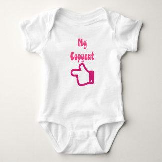 Body Para Bebê Meu romper do gêmeo do copiador
