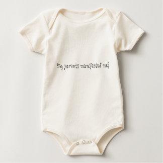 Body Para Bebê Meus pais manifestaram-me!