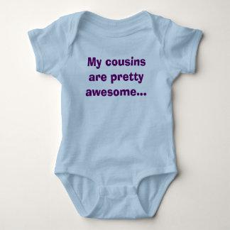 Body Para Bebê Meus primos são impressionantes bonito…