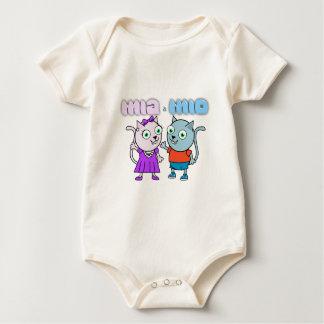 Body Para Bebê Mia e artigos comestíveis Mio