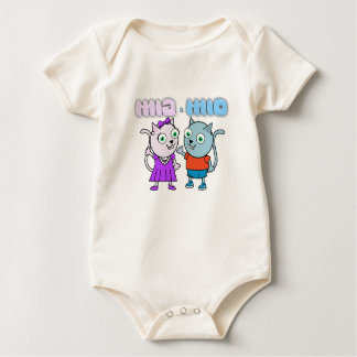 Body Para Bebê Mia e Mio
