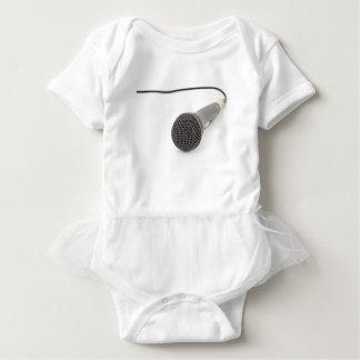 Body Para Bebê Microfone do estúdio