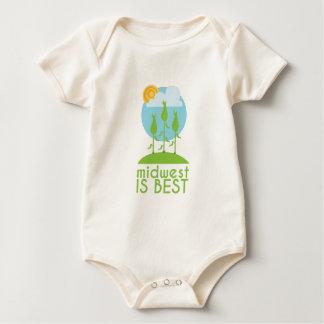 Body Para Bebê Midwest é o melhor