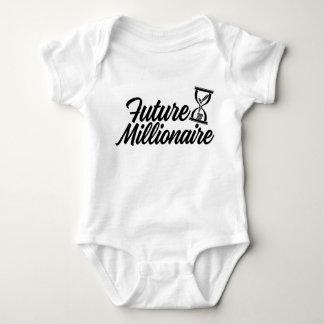 Body Para Bebê Milionário futuro