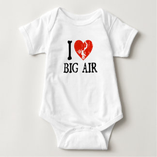 Body Para Bebê Mim ar grande do coração - motocross