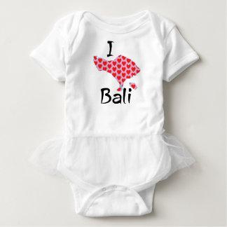 Body Para Bebê Mim coração Bali