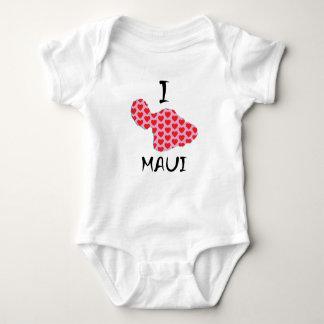 Body Para Bebê Mim coração Maui