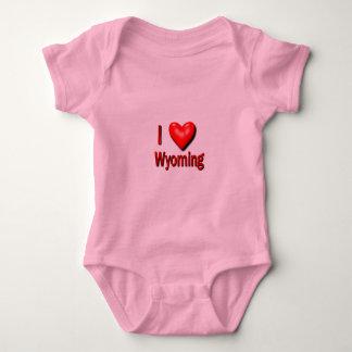 Body Para Bebê Mim coração Wyoming
