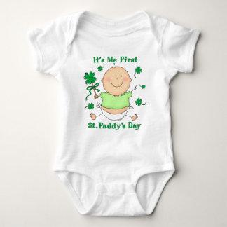 Body Para Bebê Mim Creeper da criança do dia da ?a almofada do