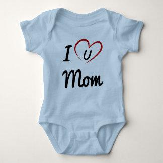 Body Para Bebê Mim Luv você mamã