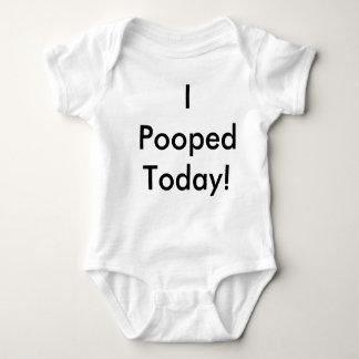 Body Para Bebê Mim Pooped hoje!