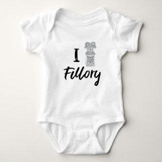 Body Para Bebê Mim (pulso de disparo) Fillory
