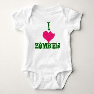 Body Para Bebê MIM Zombi-creeper do CORAÇÃO