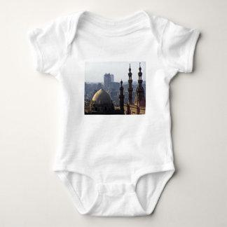 Body Para Bebê Minaretes panorama de mesquita Cairo