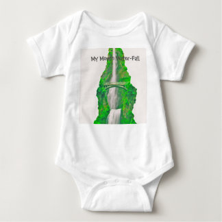 Body Para Bebê Minha cachoeira da boca