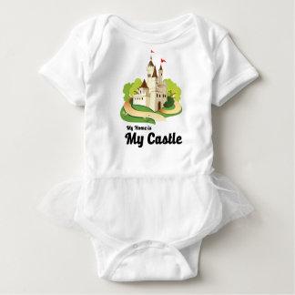 Body Para Bebê minha casa meu castelo