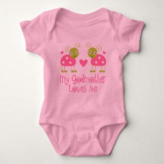 Body Para Bebê Minha madrinha ama-me