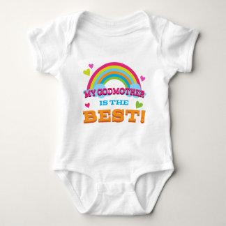 Body Para Bebê Minha madrinha é o melhor