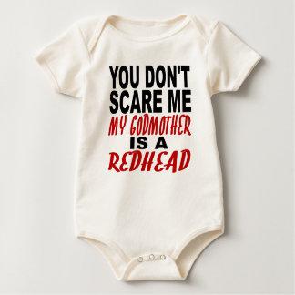 Body Para Bebê Minha madrinha é um Redhead