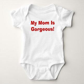 Body Para Bebê Minha mamã é lindo!