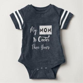 Body Para Bebê Minha mamã está mais fresca do que sua