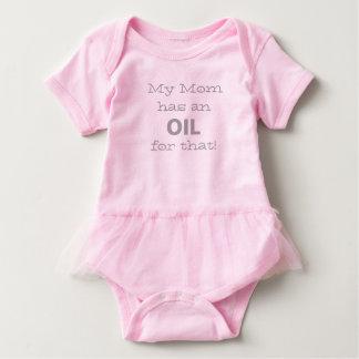 Body Para Bebê Minha mamã tem um óleo para aquela!
