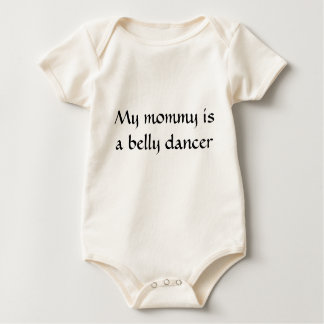 Body Para Bebê Minha mamãe é um dançarino de barriga