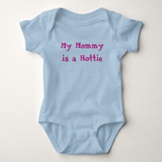 Body Para Bebê Minha mamãe é um Hottie